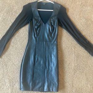Beautiful leather dress